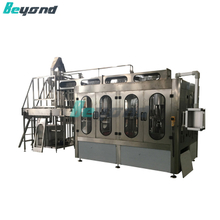 Beyond Auto 4 In1 Carbonated Water Filling Machine with CE