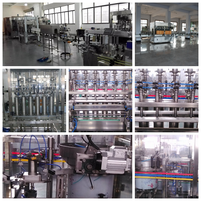 Beyond Automatic Oil Bottle Filling Machine (6 heads) 1000bph