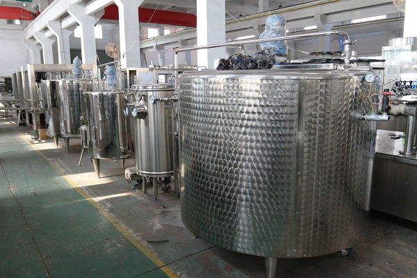 water treatment machine line