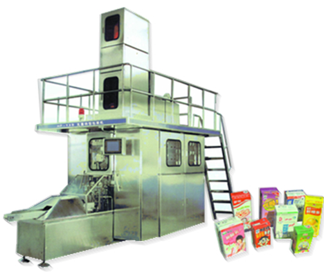 Carton Juice Filling Packing Machine