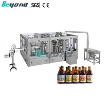 Beyond Beer Filling Equipment Rinse Filler Capper[PXDGY18-18-6]