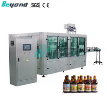 Beyond Automatic Pure Beer filling and capping machine with Ringpull cap