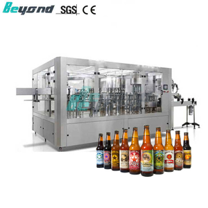 Beyond PLC Control 3in1 Beer Filling Machine with CE Certificate